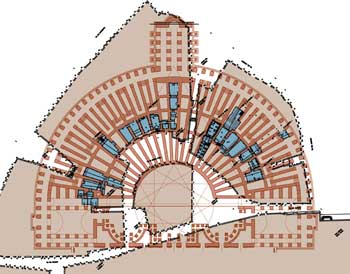 Plan of the Theater of Pompey
